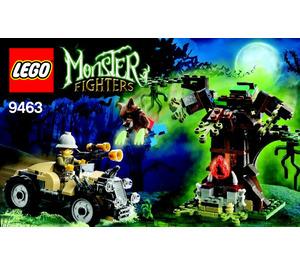 LEGO The Werewolf Set 9463 Instructions