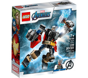 LEGO Thor Mech Armor Set 76169 Packaging