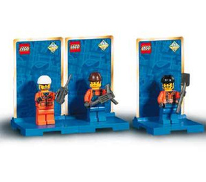 LEGO Three Minifig Pack - City #2 Set 3351