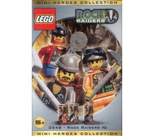 LEGO Three Minifig Pack - Rock Raiders #2 Set 3348