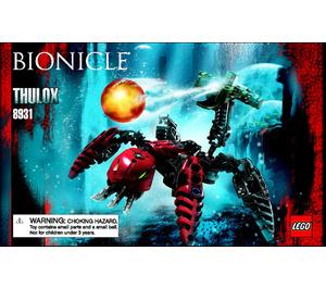 LEGO Thulox Set 8931 Instructions