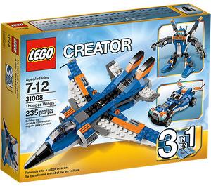 LEGO Thunder Wings Set 31008 Packaging