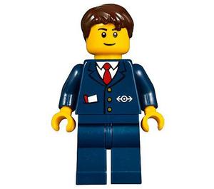 LEGO Ticket Agent Minifigure