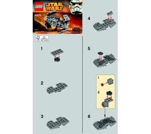 LEGO TIE Advanced Prototype Set 30275 Instructions