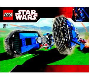 LEGO TIE Crawler Set 7664 Instructions
