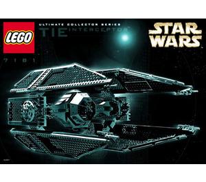 LEGO TIE Interceptor Set 7181 Instructions