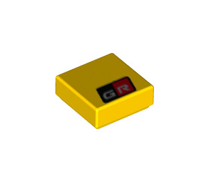 LEGO Tile 1 x 1 with Decoration with Groove (3070 / 72298)