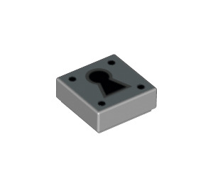 LEGO Tile 1 x 1 with Key Hole with Groove (16827)