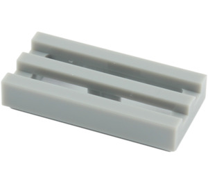 LEGO Tile 1 x 2 Grille (with Bottom Groove) (2412 / 15561 / 30244)