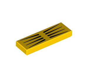 LEGO Tile 1 x 3 with Decoration (37294 / 68955)