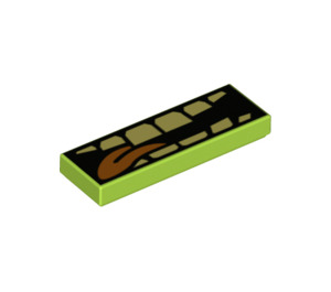 LEGO Tile 1 x 3 with Decoration (39858 / 63864)