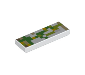 LEGO Tile 1 x 3 with Minecraft Golem Arm (25096 / 63864)