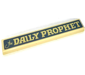 LEGO Tile 1 x 6 with the DAILY PROPHET Sticker (6636)