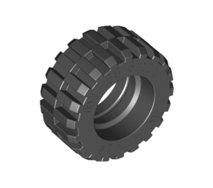 LEGO Tire 30.4 x 14 with Offset Tread Pattern and No band (30391)