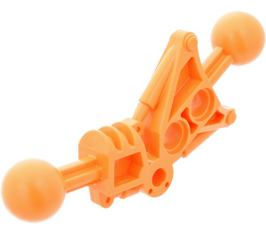LEGO Toa Leg 1 x 7 with 2 Ball Joints 30 Degrees (32482)