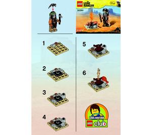 LEGO Tonto's Campfire Set 30261 Instructions