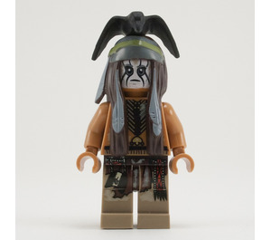 LEGO Tonto with Silver Mine Outfit Minifigure