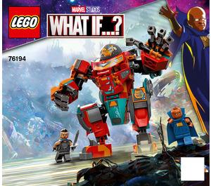 LEGO Tony Stark's Sakaarian Iron Man Set 76194 Instructions