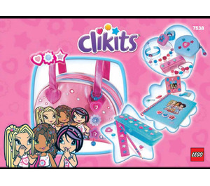 LEGO Totally Clikits Fashion Bag and Accessories Set 7538 Instructions