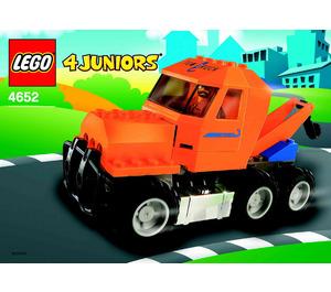 LEGO Tow Truck Set 4652 Instructions