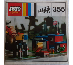 LEGO Town Center Set with Roadways 355-1 Instructions