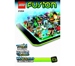 LEGO Town Master Set 21204 Instructions