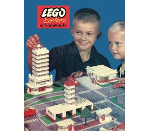 LEGO Town Plan Board Set 246-1
