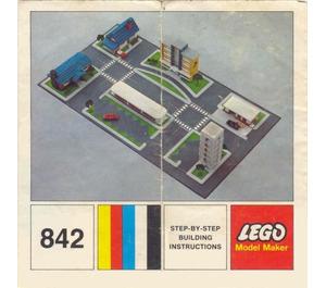 LEGO Town Plan Set 842-2