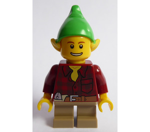 LEGO Toy Workshop Male Elf Minifigure