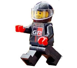 LEGO Toyota driver with Helmet Minifigure