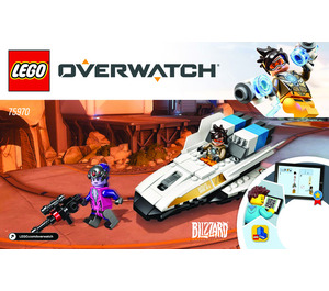 LEGO Tracer vs. Widowmaker Set 75970 Instructions