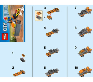 LEGO Tractor Set 30353 Instructions