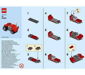 LEGO Tractor Set 40280 Instructions