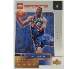 LEGO Trading Card - Basketball - Tracy McGrady, Orlando Magic #1 (Gold Leaf)