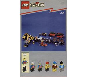 LEGO Train Cars Set 2126 Instructions