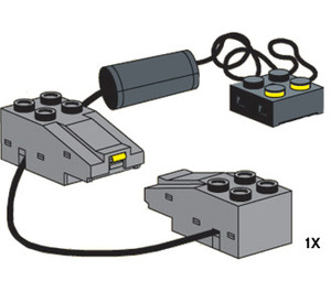 LEGO Train Connection Wire Set 10078