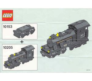 LEGO Train Motor 9 V Set 10153 Instructions