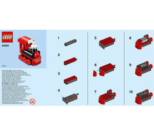 LEGO Train Set 40250 Instructions