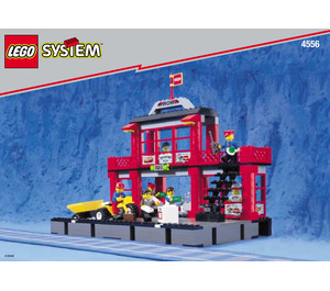 LEGO Train Station Set 4556 Instructions