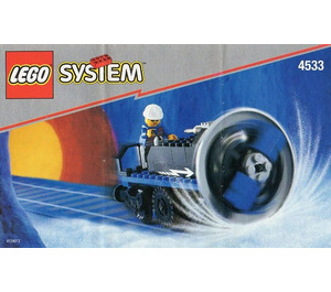LEGO Train Track Snow Remover Set 4533