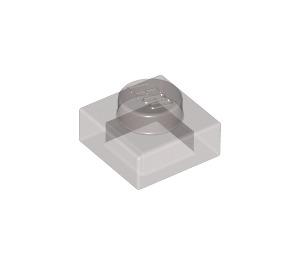 LEGO Transparent Black Plate 1 x 1 (28554 / 30008)