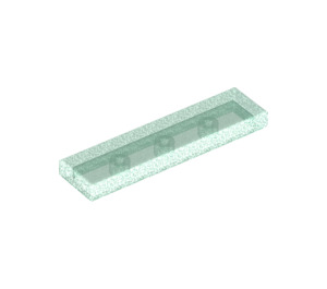 LEGO Transparent Blue Opal Tile 1 x 4 (35371)