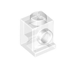 LEGO Transparent Brick 1 x 1 with Headlight and No Slot (30069 / 35388)