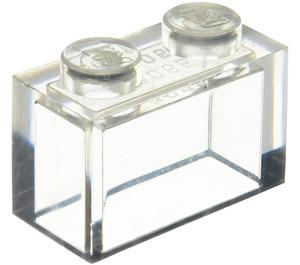 LEGO Transparent Brick 1 x 2 without Bottom Tube (3065 / 35743)