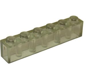 LEGO Transparent Brick 1 x 6