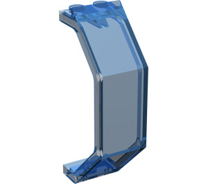 LEGO Transparent Dark Blue Panel 3 x 2 x 6 (2466 / 30226)