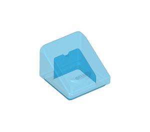 LEGO Transparent Dark Blue Slope 31° 1 x 1 (35338 / 50746)