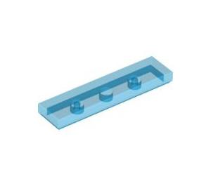 LEGO Transparent Dark Blue Tile 1 x 4 (35371 / 91143)