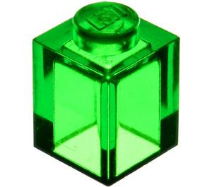 LEGO Transparent Green Brick 1 x 1 (30071)