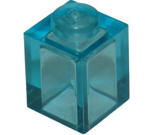 LEGO Transparent Light Blue Brick 1 x 1 (3005 / 30071)
